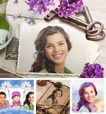 Online photo card maker with lots of greeting card templates