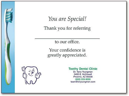 Saying Thank You Encourages Patients to Keep Referring ...