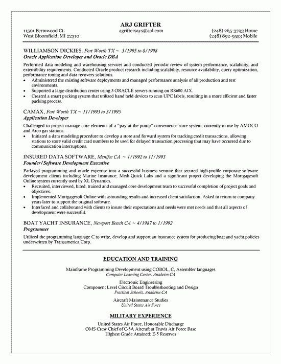 Sample Dba Manager Resume. regional manager resume best resume for ...