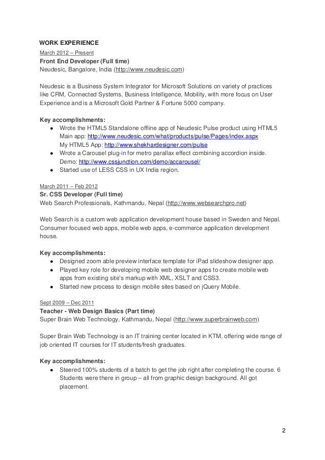 Programming Resume Examples. Click Here To Download This It ...