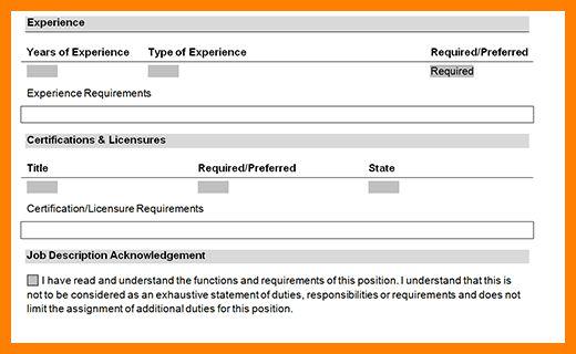 5+ job description form | resume pictures