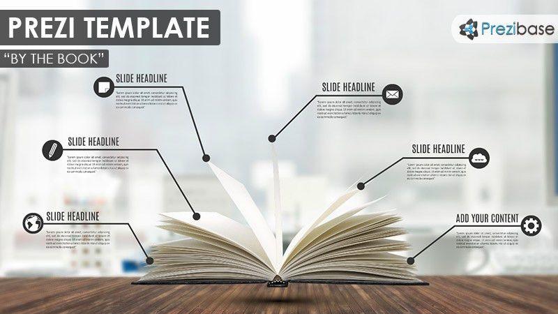 By the Book Prezi Template | Prezibase