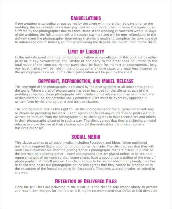 Sample Photography Business Plan - 6+ Documents in PDF
