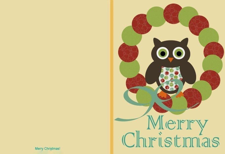 Free Printable Christmas Cards – Happy Holidays!