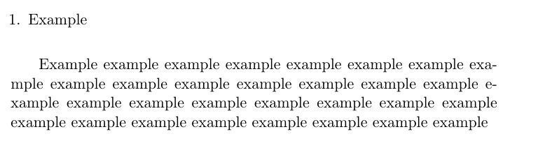 lists - Paragraph inside enumerate - TeX - LaTeX Stack Exchange