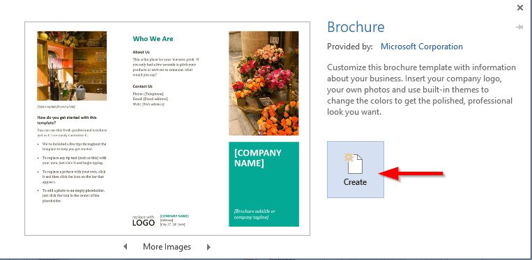 How to create a brochure in Word 2016? | EasyTweaks.com