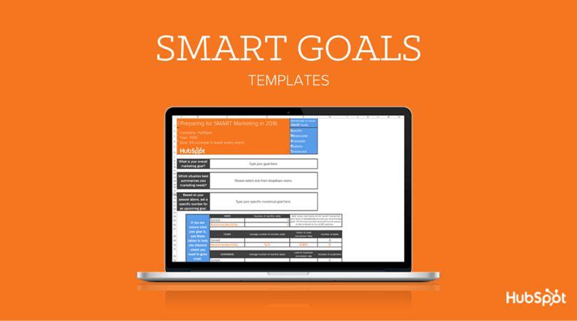 Free Template: Determine Your SMART Marketing Goals
