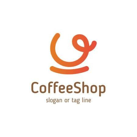 Coffee Shop Logo Template for Coffee cafe, bar, resto and all ...