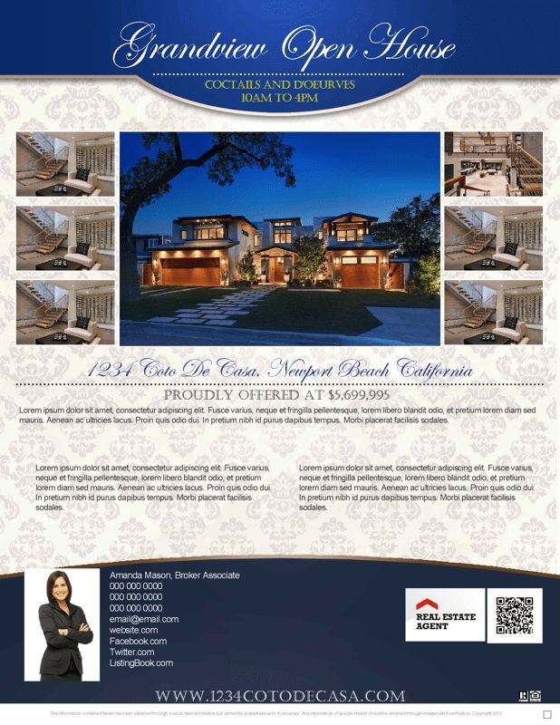 How to convert your listing flyer into an Open House flyer!