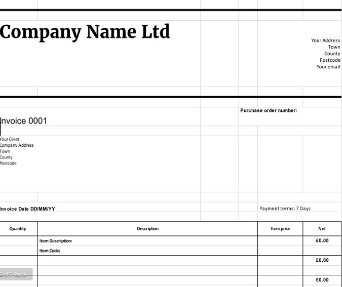 Free Downloadable Invoice Templates | cloudaccountant.co.uk