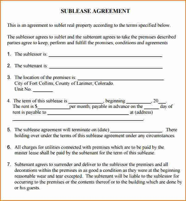 Free Commercial Lease Agreement Template. California-Commercial ...
