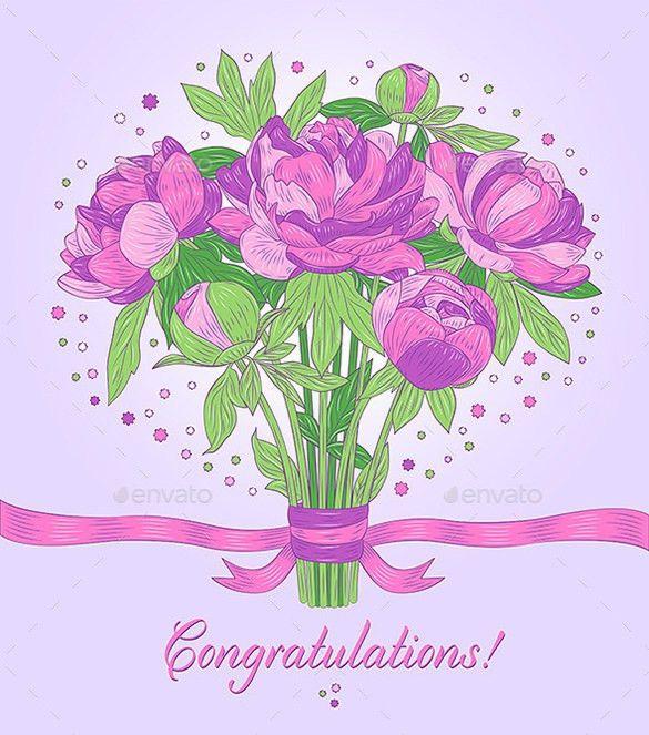 Congratulations Card Templates – 12+ Free Printable Word, PDF, PSD ...