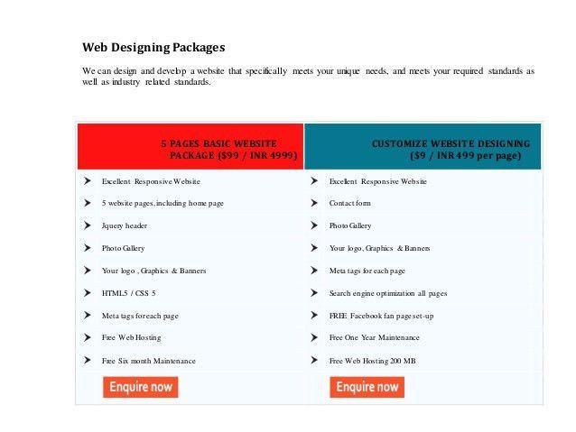 Web Design Proposal Example : Magxp