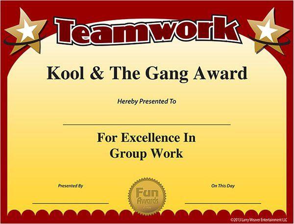 Free Certificate | work awards | Pinterest | Free certificates ...