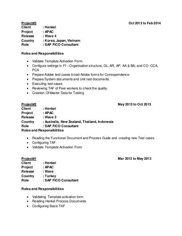 sap fico resume sample resume templates bus driver by machine