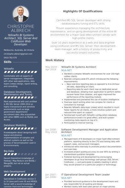 Architect Resume Sample | jennywashere.com