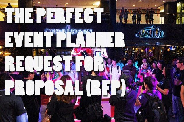 The Perfect Event Planning RFP (Request for Proposal ...