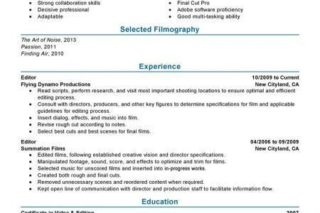 Quality Assurance Specialist Resume Examples Media & Entertainment ...
