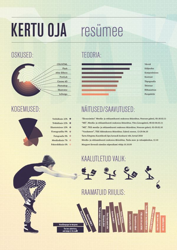 92 best Creative CV / Resume images on Pinterest | Creative resume ...