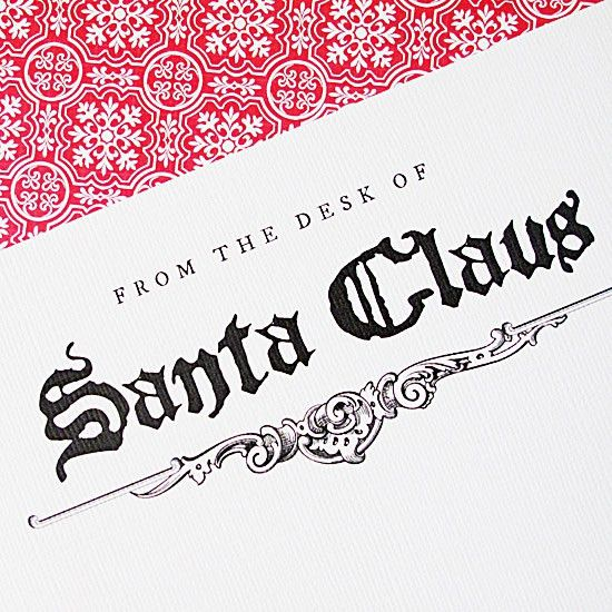 FREE DOWNLOAD | Santa's Stationery - Design Editor