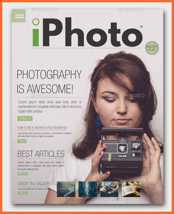 magazine cover template | soap format