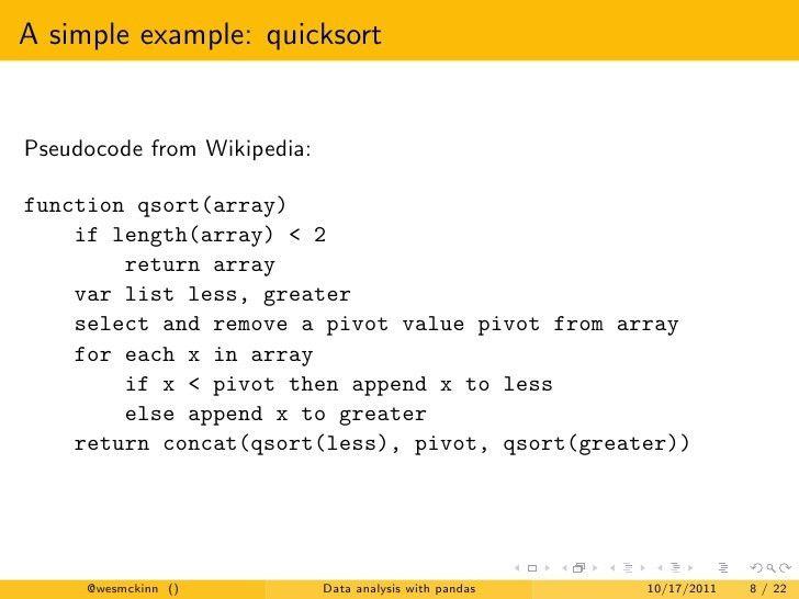 Python for Financial Data Analysis with pandas