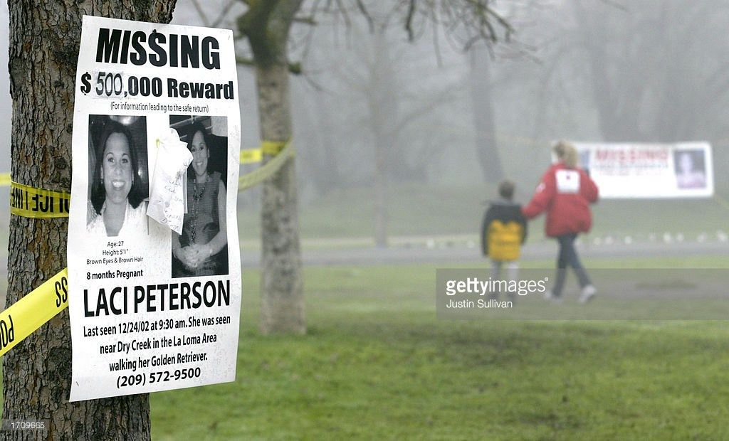 Missing Person Poster Displayed On Tree For California Woman ...