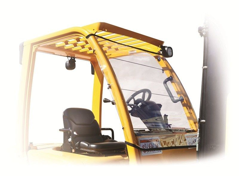 Forklift Canopy & Windshield Cover | Protect from Rain & Snow