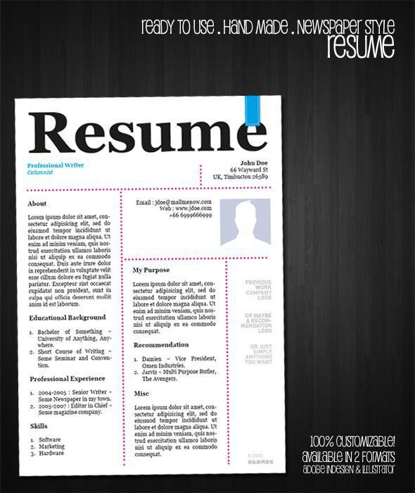 24 best Resume Templates images on Pinterest | Resume templates ...