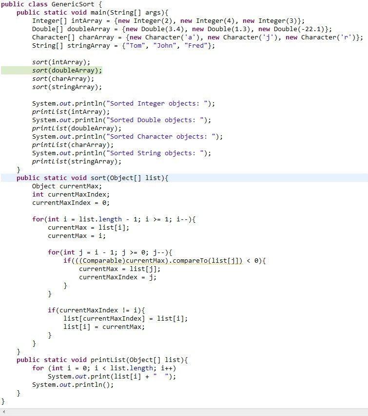 Java lovers: java compareTo problem. java programming language ...
