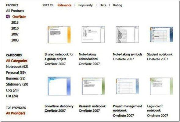 OneNote 2013 Templates Make Note Taking Easier Across Windows, iOS ...