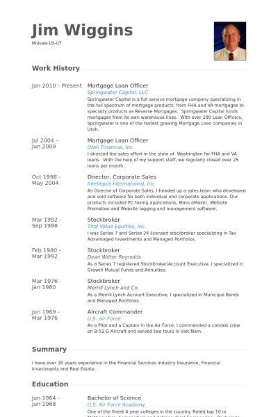 Loan Officer CV Örneği - VisualCV Özgeçmiş Örnekleri Veritabanı