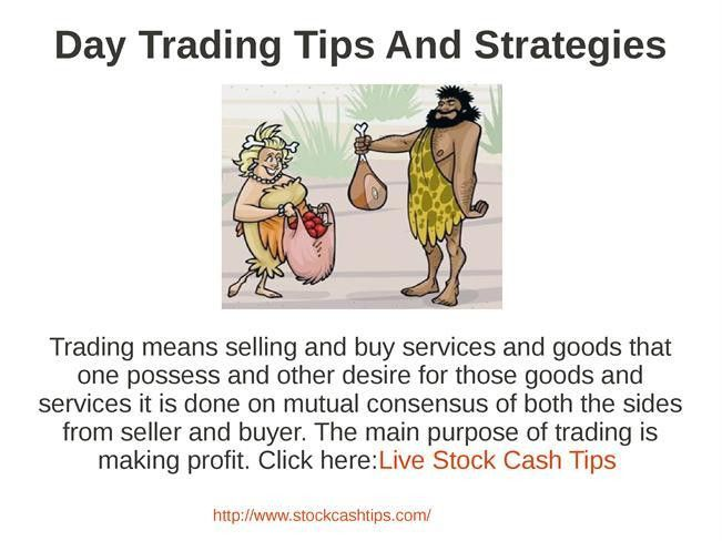 Day Trading Tips And Strategies Pptauthorstream 76 [Template ...
