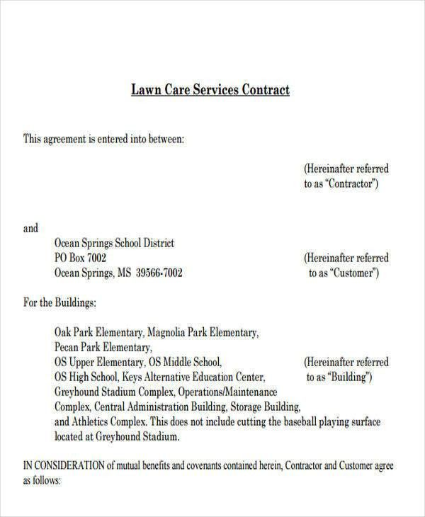 9+ Service Contract Templates   Free Sample, Example, Format Download