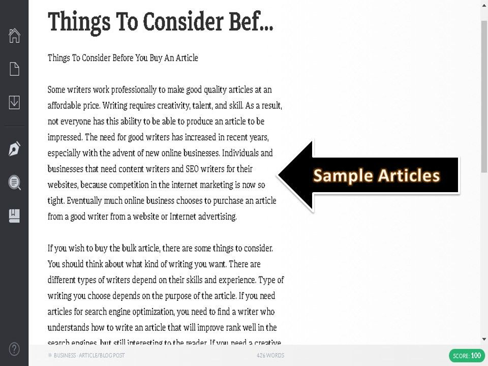 Get 4 Articles 400+ Words, Copyscape Passed & SEO Friendly ...