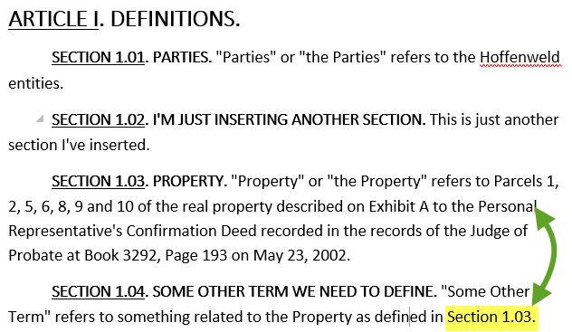 Word-2016-cross-reference-example-2 | Legal Office Guru