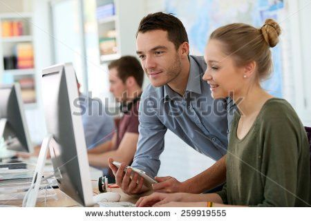 Teacher Computer Stock Images, Royalty-Free Images & Vectors ...