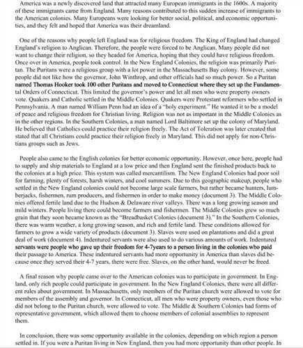 informal essay format