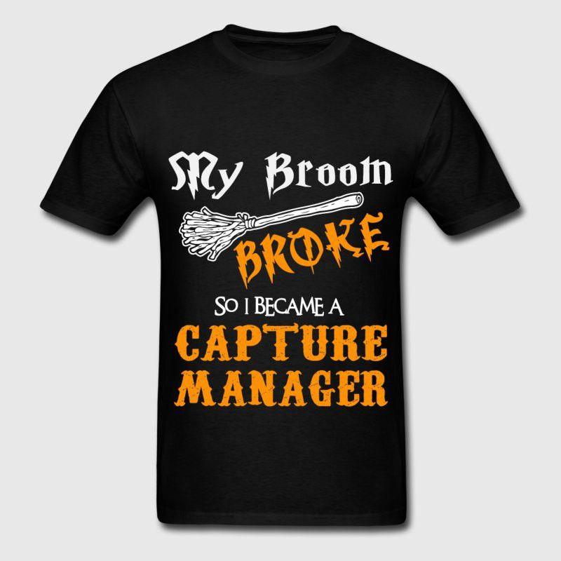 Capture Manager T-Shirt   Spreadshirt