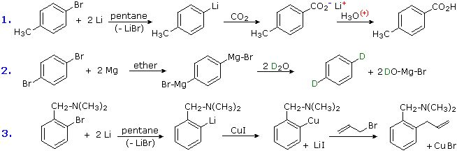 Reactions of Substituent Groups - Chemistry LibreTexts