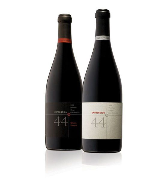 Design minimalist packaging wine bottle labels and boxes packaging ...