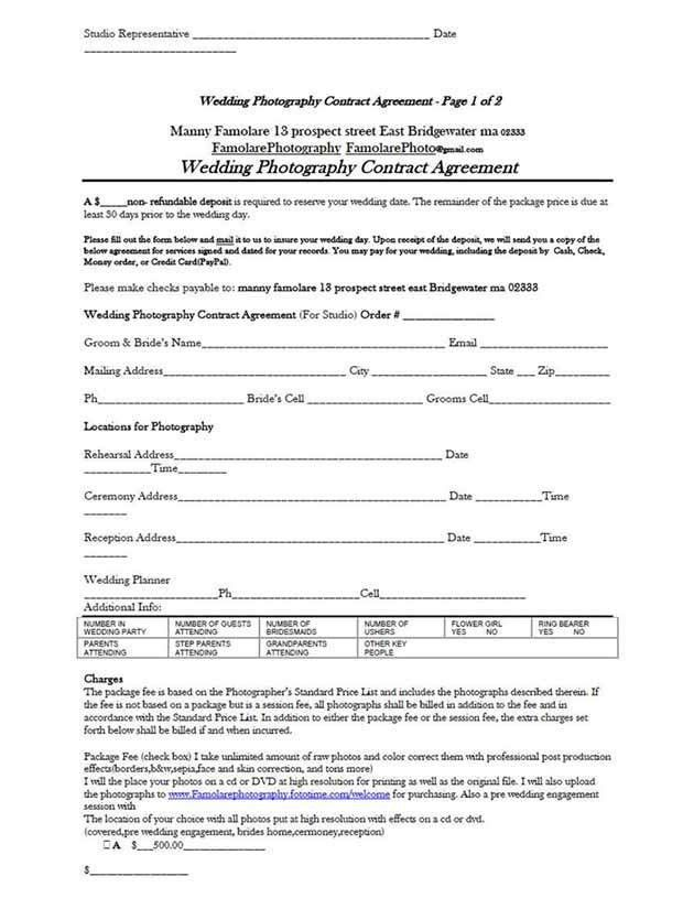 Free Contract Templates. 7+ Service Contract Agreement Form ...