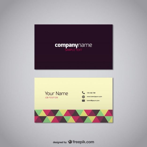 Vector graphics visiting card free download Vector | Free Vector ...