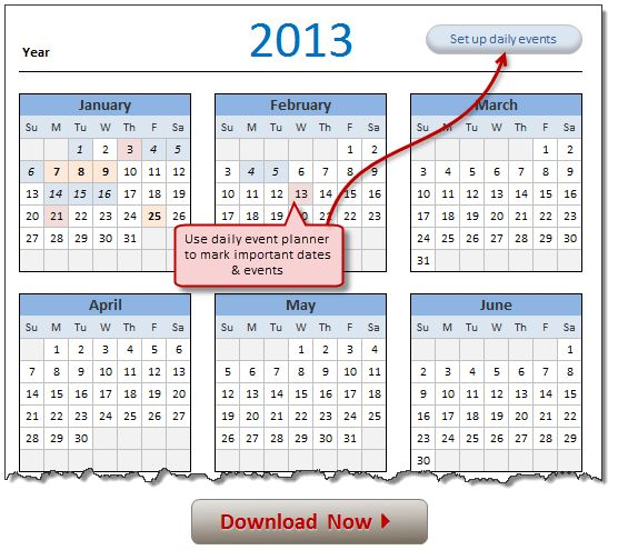 All Articles on calendar template | Chandoo.org - Learn Microsoft ...