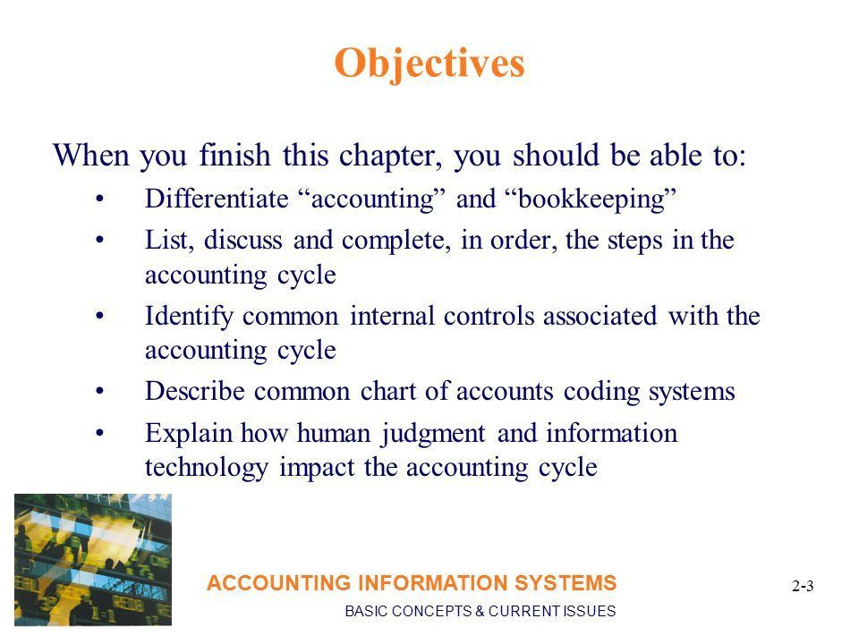 Chapter 2 Transaction Processing in the AIS ACCOUNTING INFORMATION ...