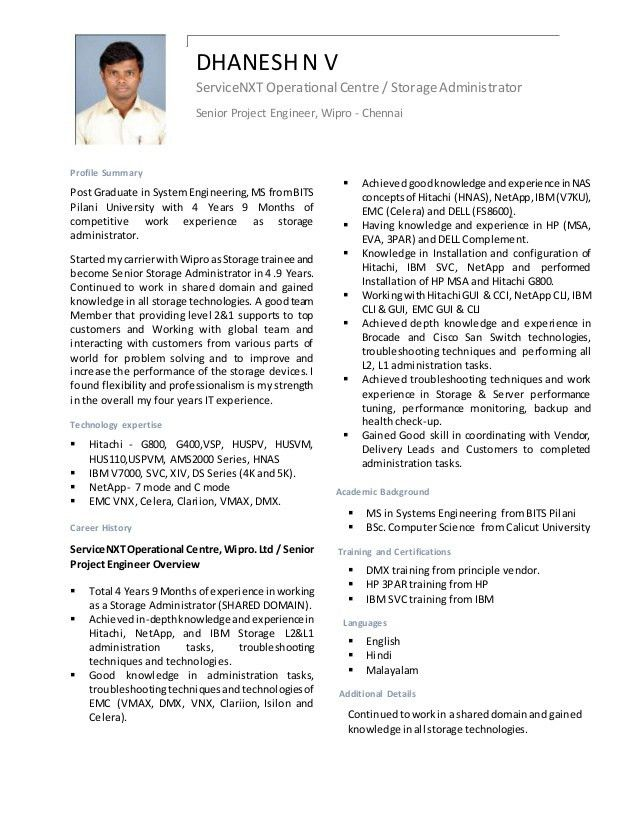 CV Dhanesh Storage admin