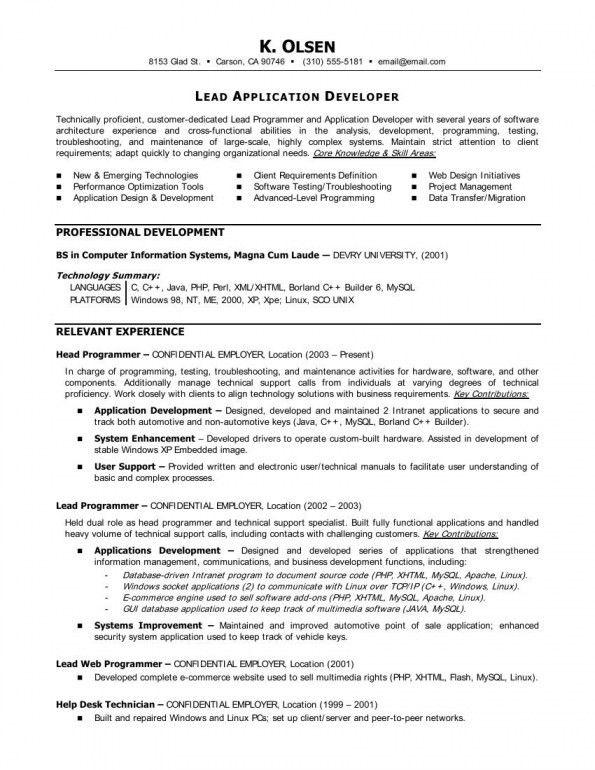 sample for asp fresher prissy inspiration net developer resume 8 ...