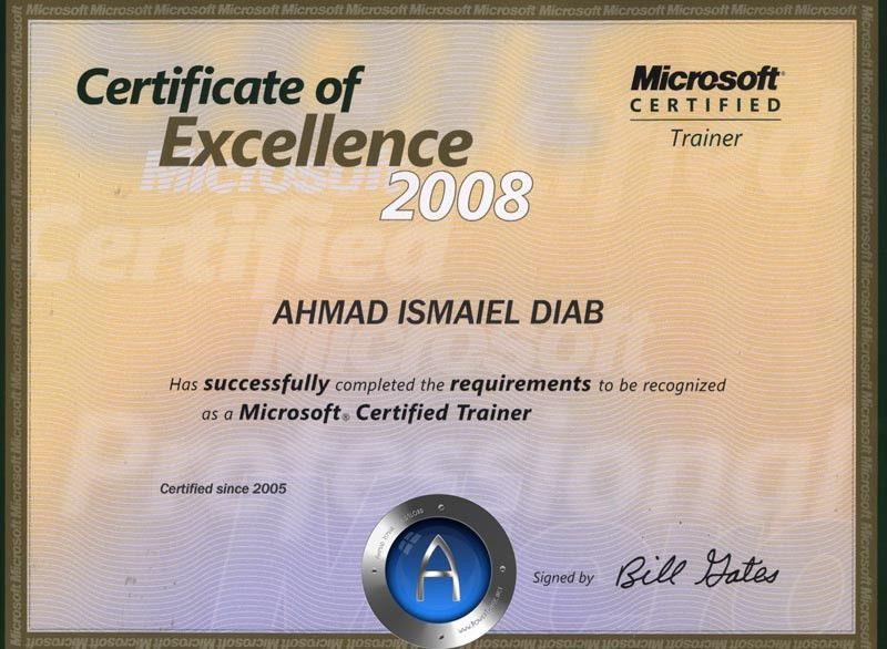 P3 - Certificates