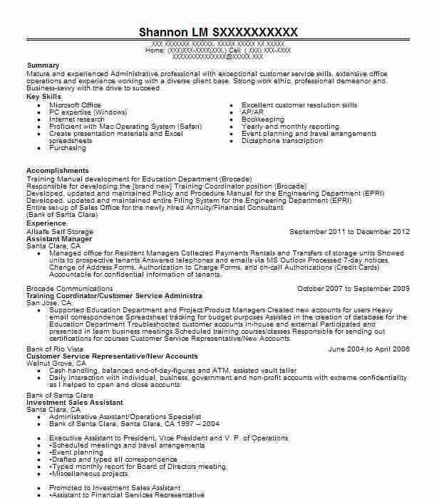 Best Admin Assistant Manager Resume Example | LiveCareer