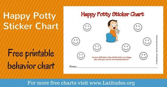 FREE Printable Potty Training Charts for Boys and Girls | ACN ...